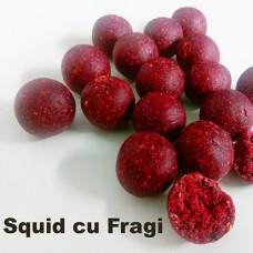 Boilies-uri Squid cu Fragi